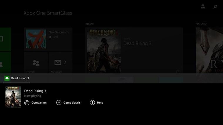 Xbox One SmartGlass screen shot 2