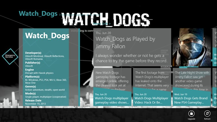 Watch Dogs screen shot 0