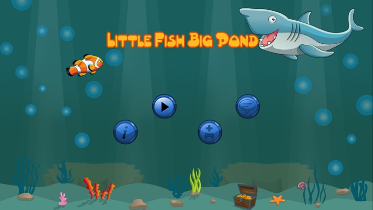 Little fish big pond app for windows in the windows store for Big fish in a small pond game