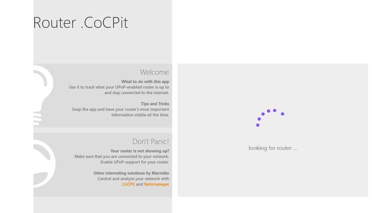 Router .CoCPit screenshot 6