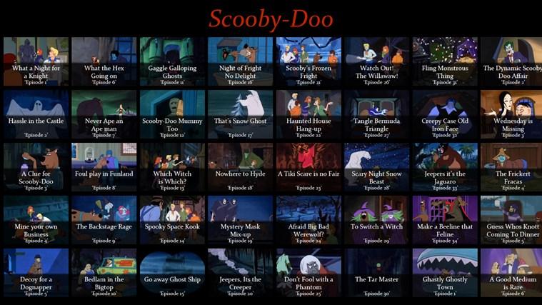 Scooby-Doo screen shot 0