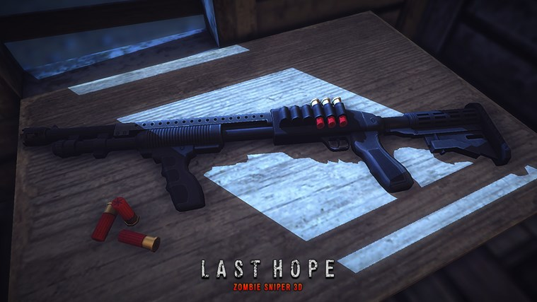 Last Hope - Zombie Sniper 3D screen shot 0