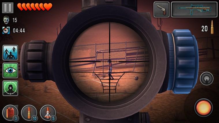 Last Hope - Zombie Sniper 3D screen shot 4