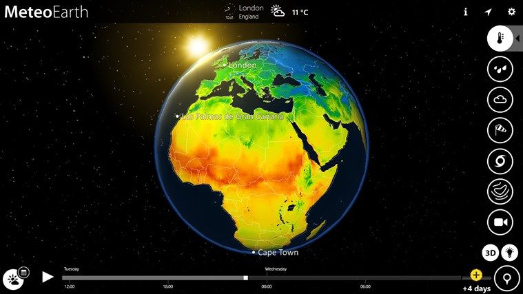 MeteoEarth screen shot 0