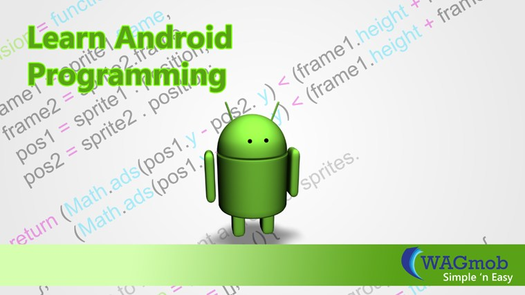 Android Programming by WAGmob captura de tela 0