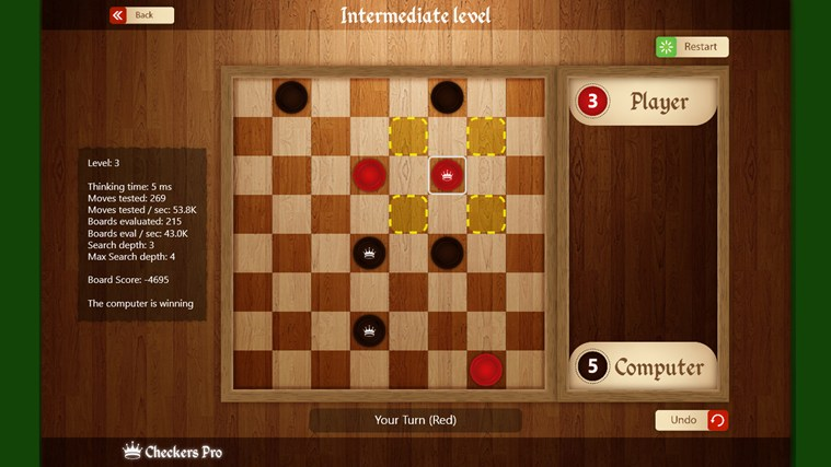 Draughts Pro screen shot 0