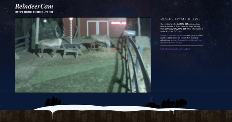 ReindeerCam screen shot 0